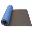 Podložka na cvičení dvouvrstvá 12 mm Maxi YATE  černá / modrá