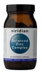 VIRIDIAN Balanced Zinc Complex 90 kapslí