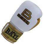 Boxerské rukavice kůže Royal BAIL bílé vel. 10 oz