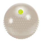 Gymnastický míč 65 cm ECOWELLNESS Duo