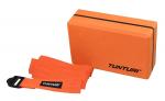 Jóga blok - cihlička s popruhem TUNTURI oranžová