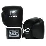 Boxerské rukavice 20 oz kůže Sparring BAIL černé