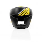 Boxerská přilba training černo-žlutý BAD BOY