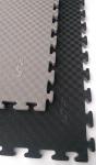 Tatami Taekwondo WTF oboustranné 100 x 100 x 2,5 cm šedo/černá