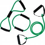 Gumové expandery s úchopy sada střední TUNTURI zelená