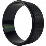 Jóga kolečko yoga wheel EVA TUNTURI černé 33 cm
