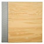 Tatami Wood 100 x 100 x 3 cm X-gym šedá-dřevo