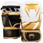 MMA sparring rukavice Challenger 3.0 bílé/černo-zlaté VENUM