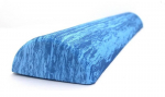 Foam Roller půlválec 90 x 7,5 cm modrý