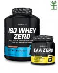BIOTECH USA ISO WHEY ZERO 2270 g + EAA Zero 350 g zdarma