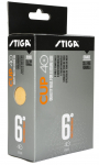 STIGA CUP ABS orange 6-pack