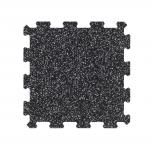 Podlaha PUZZLE PROFI CF 8 mm / 50x50 / černo-šedá 20%
