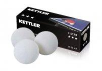 KETTLER míčky na stolní tenis 3-STAR
