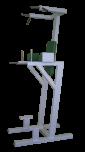 Posilovací stroj Stojanová hrazda s bradly a přednožováním
