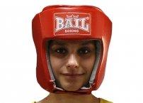 Boxerská přilba BASIC PU červená