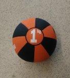 Medicinball gumový 1 kg