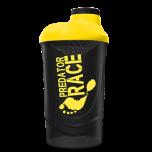 Shaker PROM-IN We Build Yout Body 600 ml černo-žlutý
