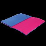 Podložka skládací malá LUX modro-červená