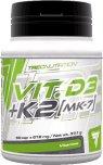 TREC NUTRITION vitamin D3 + K2 (MK-7) 60 kapslí