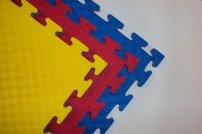 X-GYM TATAMI oboustranné 100 x 100 x 2,5 cm červeno-modré