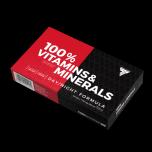 TREC 100% vitamins minerals 60 kapslí