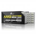 OLIMP AAKG Extreme Mega Caps 1250 mg 120 kapslí + 5 vzorků BCAA XPLODE zdarma!