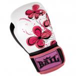 Boxerské rukavice 10 oz kůže Royal BAIL Pink flower