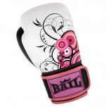 Boxerské rukavice - kůže Royal BAIL Circle pink vel. 10 oz