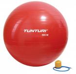 TUNTURI gymnastický míč s pumpičkou červený