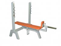 Posilovací lavice na bench press FITHAM Lavice tlaky polohovací nahoru do 45 st.