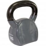 Kettlebell VINYL 14 kg TUNTURI šedý