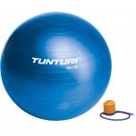 Gymnastický míč s pumpičkou 90 cm TUNTURI modrý