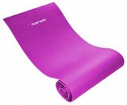 Podložka na cvičení protiskluzová TUNTURI Fitness Mat XPE růžová