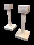 Opěrky na stojky dřevěné - 23 cm