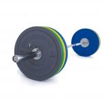 Olympijská činka TRINFIT 120 kg Bumper CrossGym