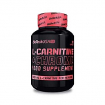 BIOTECH USA L-Carnitine + chrome (for her) 60 kapslí