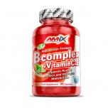 AMIX B-Complex + vitamin C a vitamin E 90 kapslí