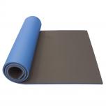 Podložka na cvičení dvouvrstvá 12 mm 190 cm Maxi YATE černá / modrá