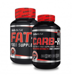 BIOTECH USA Fat-X 60 tablet + Carb-X 120 tablet
