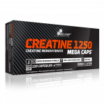 OLIMP Creatine 1250 mg Mega Caps 120 kapslí + 5 vzorků gaineru PROFI MASS zdarma!