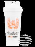 EXTRIFIT Shaker Women Line 600 ml bílý