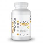 NUTRIWORKS Strong Omega 3 - 120 kapslí