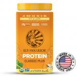 SUNWARRIOR Protein Plus BIO 750 g + přírodní vitamin C ZDARMA!