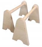 Opěrky na kliky - vysoké (délka 50 cm)