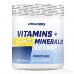 ENERGYBODY Vitamins + minerals 300 g citron