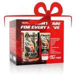 NUTREND Flexit Gold Drink 400 g pomeranč + Flexit Gold Gel 100 ml