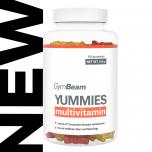 GymBeam Multivitamin Yummies 60 kapslí pomeranč citron višeň