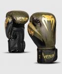 Boxerské rukavice Impact khaki/zlaté VENUM