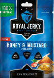 Royal Jerky Pork - vepřové Honey Mustard 12x22 g