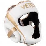 Chránič hlavy Elite bílý/zlatý VENUM